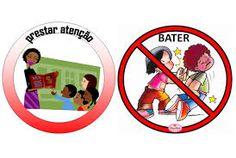 Resultado de imagem para regrinhas educação infantil com imagens nao pode morder
