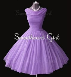 Charming Sweetheart Vintage Chiffon prom dress/evening dress from Sweetheart…