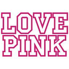 Download love pink   Love Pink Vinyl Decal Sticker Victoria's ...