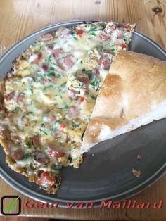 Sosisli kasarli omlet
