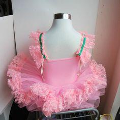 Vintage Child's Tutu Ballet Recital Costume by DianaDwainVintage