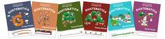 Cuadernos de Matemáticas ahora imprimibles y portemas.