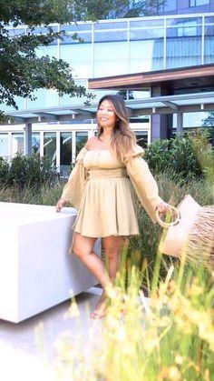 #summeroutfits #revolve #summertransition #falltransition #jumpsuit #falljumpsuit #LTKSeasonal #LTKstyletip #LTKshoecrush Hot Summer Outfits, Sofia Richie, Warm Weather Outfits, Vacation Style, Hey Girl, Spring Trends, Amalfi, Wedding Season, Get Dressed
