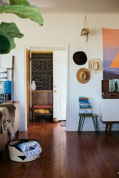 About A Space: Chy Parker's Textile-Filled Home
