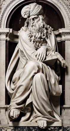 The Prophets. 16th.century. Girolamo Lombardo. Italian. 1506-1590.