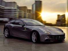 Photos don't to the Ferrari FF justice: The four-seat, four-wheel-drive supercar looks much more sultry in person. #cars #Ferrari