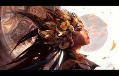 Beautiful Fantasy Art by Gianluca Rolli (Deviantart) Digital Portrait, Portrait Art, Digital Art, Digital Paintings, Fantasy Inspiration, Painting Inspiration, Story Inspiration, Illustrations, Illustration Art