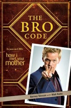 Christmas Gifts for HIM 2012 | The Bro Code by Barney Stinson