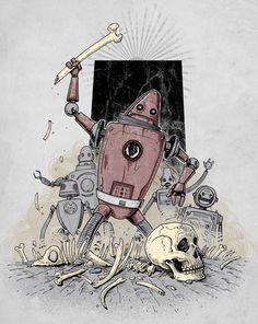The Dusk of Man by Nanà Dalla Porta