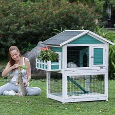 Discover the most adorable pet rabbit hutches at Bunny Supply Co! We offer a wide variety of the best selling and most popular indoor and outdoor housing for bunnies and rabbits at the lowest prices anywhere online! ❤️ Visit www.BunnySupplyCo.com for more!