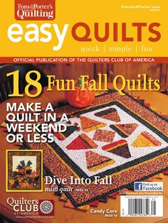 Easy Quilts Fall 2011 by New Track Media