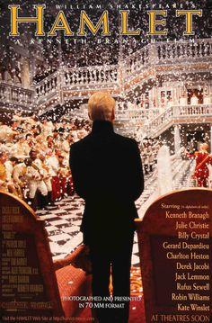 Hamlet (1996) Original One-Sheet Movie Poster