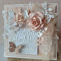 Peach Mother's Day Card - Scrapbook.com