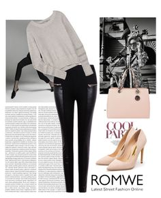 """""""Romwe contest"""" by fashion-783 ❤ liked on Polyvore featuring Burton, T By Alexander Wang, Rupert Sanderson and MICHAEL Michael Kors"""