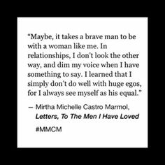 Letters, to the Men I have Loved #MMCM