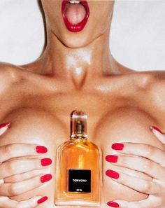Tom Ford for Men fragrance shot by Terry Richardson, 2007.
