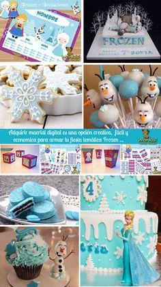 Frozen: Invitación Infantil El reino de hielo, Frozen esta presente en WonkisTienda! http://www.wonkis.com.ar/2014/05/frozen-invitacion-infantil/