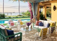 Fashion Maven Liz Lange Crafts a Palm Beach Getaway with Personality