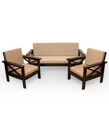 Image result for wooden settee