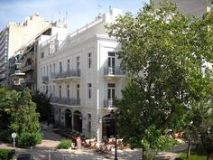 Nestled in the center of Athens, on a quiet pedestrian street of the Karaiskaki square, 3 stars Hotel Rio Athens is also close to Metaxourghio Metro Station. Accommodation is provided in air-conditioned rooms, with free Wi-Fi. Athens Hotel, Metro Station, Pedestrian, Wi Fi, Rio, Greece, Places To Go, Bucket, Hotels
