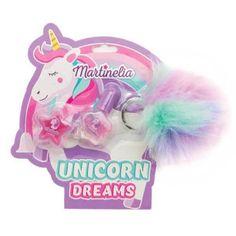 Martinelia Unicorn Dreams Σετ Lip Balm 4.5gr Nail Polish 3ml Lipgloss, Lip Balm, Nail Polish, Nails, Children, Dreams, Products, Enamels, Unicorn