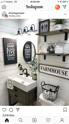 This Room Is Brought To You By Framed Farmhouse Sign 2019 Bathroom style bathroom decor half bath bathroom ideas farmhouse style bathroom signs wood sign The post This Room Is Brought To You By Framed Farmhouse Sign 2019 appeared first on Bathroom Diy. Guest Bathrooms, Downstairs Bathroom, Master Bathroom, Garage Bathroom, Rustic Bathrooms, Dream Bathrooms, Bad Inspiration, Bathroom Inspiration, Ideas Baños