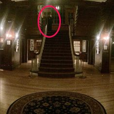 """Stanley Hotel 'Ghost' Caught On Camera A visitor to the hotel that inspired Stephen King to write """"The Shining"""" has snapped a photo of what some believe is a ghost. Henry Yau took a panoramic image of. Scary Ghost Pictures, Creepy Ghost, Ghost Images, Ghost Photos, Real Haunted Houses, Most Haunted, Spooky Places, Haunted Places, Ghost Caught On Camera"""