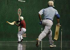 Asier Zen et Laurent Garcia (cesta-punta) Tags: zen punta garcia dor basque biarritz cesta gant pelote cestapunta