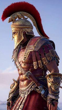 Arte Assassins Creed, Assassins Creed Odyssey, Assassins Creed Origins, Medieval Combat, Gladiator Tattoo, Warrior Concept Art, Spartan Tattoo, Roman Armor, Roman Warriors