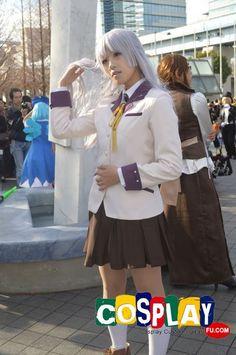 Angel (Kanade Tachibana) Cosplay from Angel Beats! in Winter Comiket 83 2012 Tokyo