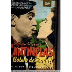 EL BOLERO DE RAQUEL (Dvd de Ocasión), Dirigida por Miguel M. Delgado, Interpretes: Mario Moreno /Cantinflas/ , Manolita Saavedra. 1957: Premios Ariel: Nominada por Mejor Actuación Infantil (Paquito Fernández).