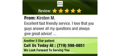 Excellent fast friendly service. I love that you guys answer all my questions and always...