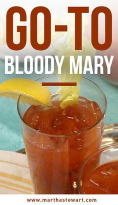 Go-To Bloody Mary | Martha Stewart Living