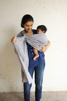 Step 5: Adjust top rail to tighten fabric near baby's neck.