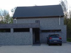Moderne woning • nieuwbouw • houtskeletbouw • Holsbeek • www.livingwood.be # livios.be