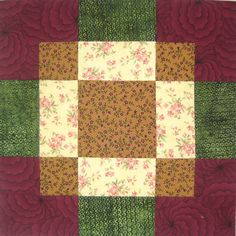 Antique Tile Is An Easy Quilt Block That's Perfect For Beginners