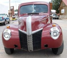 Ford : F-100 custom truck, wood flat bed, custom buckets Nice 1941 Ford pickup with updated engine to 351 Windsor - http://www.legendaryfind.com/carsforsale/ford-f-100-custom-truck-wood-flat-bed-custom-buckets-nice-1941-ford-pickup-with-updated-engine-to-351-windsor-3/