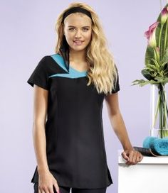 Beauty and Spa Workwear Short Sleeve Dresses, Dresses With Sleeves, Work Wear, Spa, Take That, Beauty, Fashion, Outfit Work, Moda