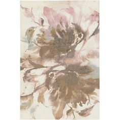 Madeline Rosey Brown/Pink Area Rug