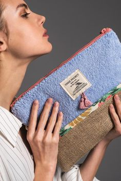 Vinge Project - Lagoon - Waterproof Beach Clutch Bag
