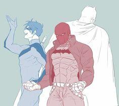 Red Hood   Nightwing