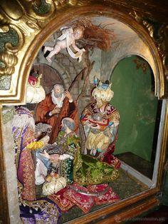 Under The Tuscan Sun, Singular, Italian Christmas, Reyes, Nativity, Inspiration, Painting, Art, Style