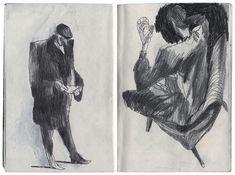 scanned sketchbook - Крепкий Артем