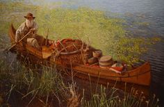 art painting mountain men | ... -Craig Tennant PrintsMountain Man & Buffalo Hunter Paintings