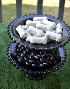 Hostess with the Mostess® - Zombie Party Treat Table