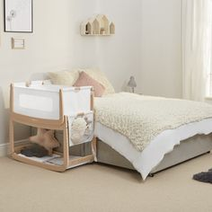 Punctual Timing to Fit Snuzpod² - 36 X 80 Cm The Little Green Sheep Natural Mattress