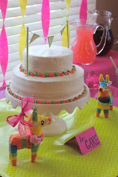 Fiesta Themed Shower - La Cake