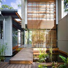 Environmentally Conscious Australian Home Built Using Reclaimed Wood. Stunning.