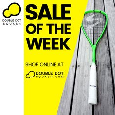 SALE OF THE WEEK: Salming Cannone Squash Racquet.⁠ SALE PRICE $159. Regular Retail Price: $250.⁠ -⁠ Shop online at www.doubledotsquash.com/salmingracquets -⁠ #doubledotsquash #squash #brownsbayracquetsclub #hernebayracketsclub #squashauckland #squashnz #squashnewzealand #squashcoaching #squashcoach #juniorsquash #psaworldtour #lovesquash #squashclub #squashcourt #squashies #squashplayer #squashgoals #squashlife #squashaddict #squashing #salming #salmingsquash #doubledotsquashshop Squash Club, Squash Rackets, Double Dot, Ways Of Learning, Total Body, Retail Price, How To Introduce Yourself, Shop, Store