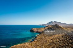 Cabo de Gata-Níjar is Andalucia's largest coastal protected area, a wild and isolated landscape with some of Europe's most original geological features. Andalusia, Spain. | #stockphotos #gettyimages #print #travel